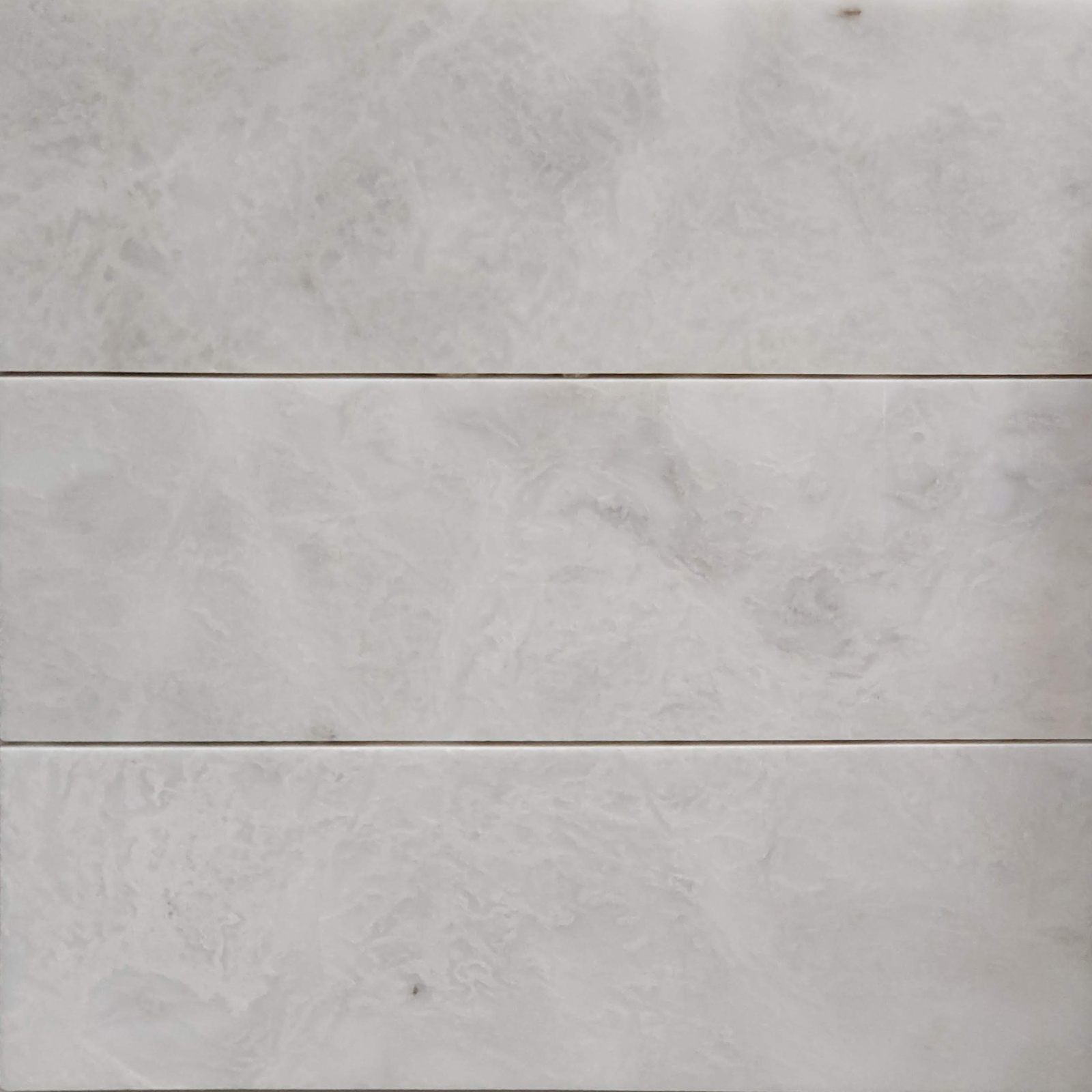 4x12 Alaska White Marble Polished Tile