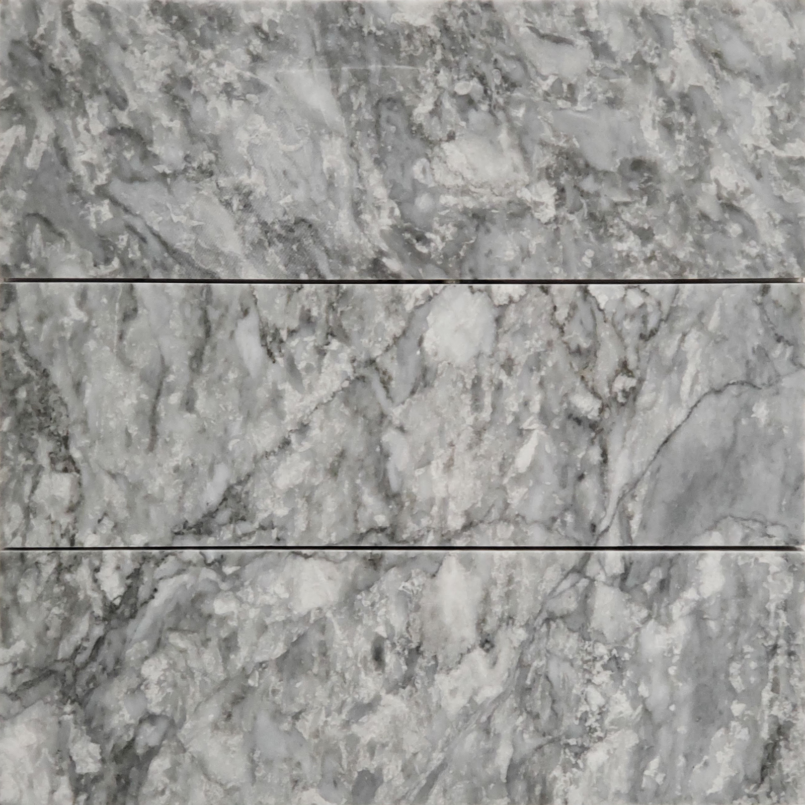 4x12 Chelsea Grey Marble Polished Tile