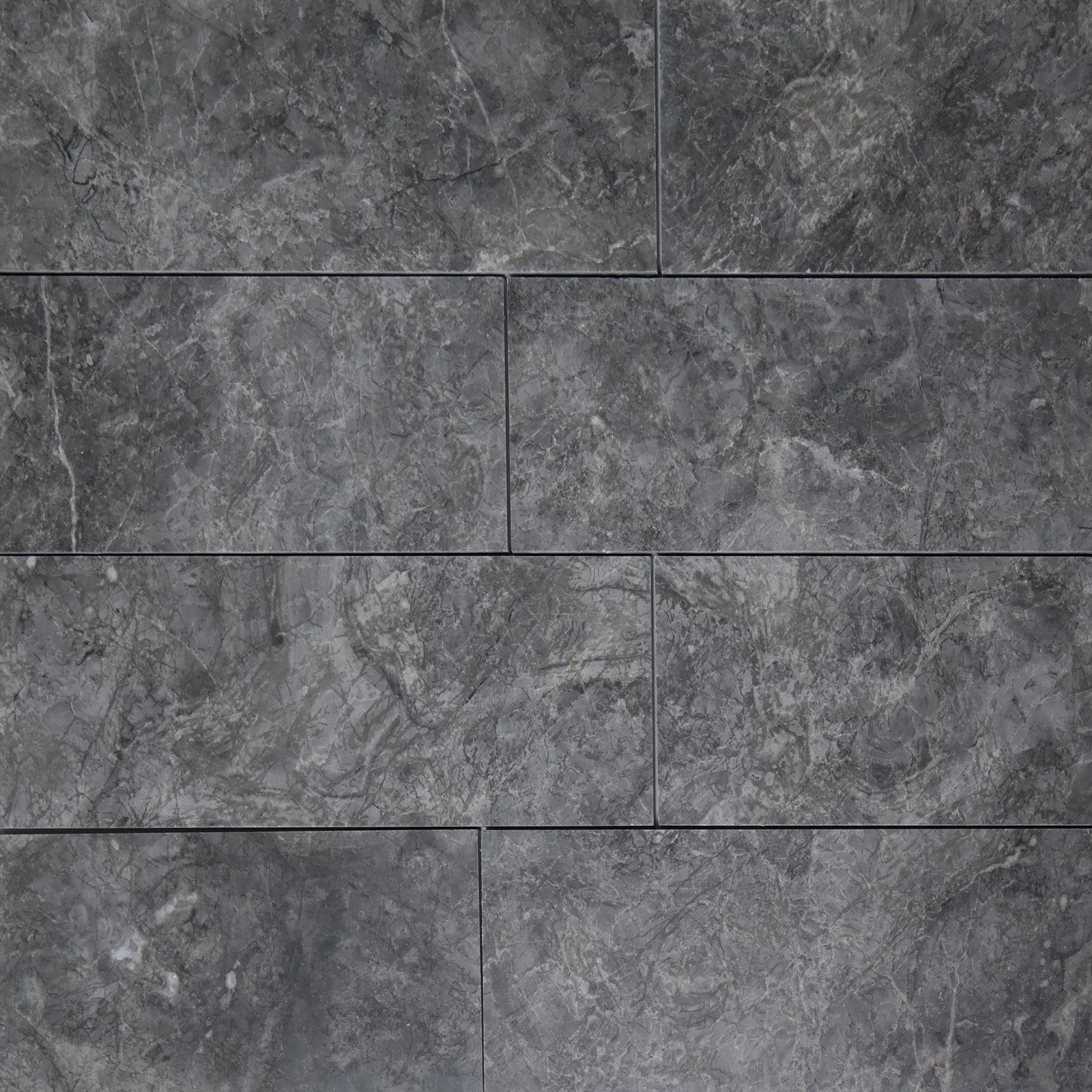 4x12 Cosmos Grey Marble Polished Tile