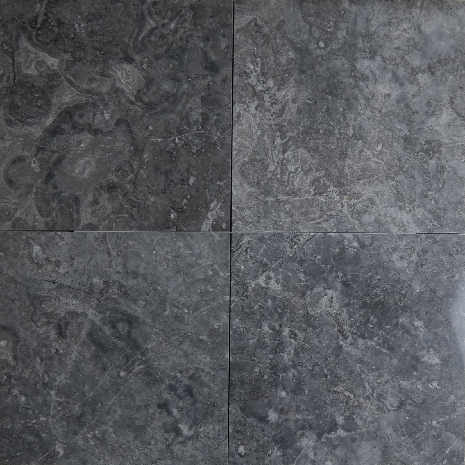 12x12 Cosmos Grey Marble Polished Tile