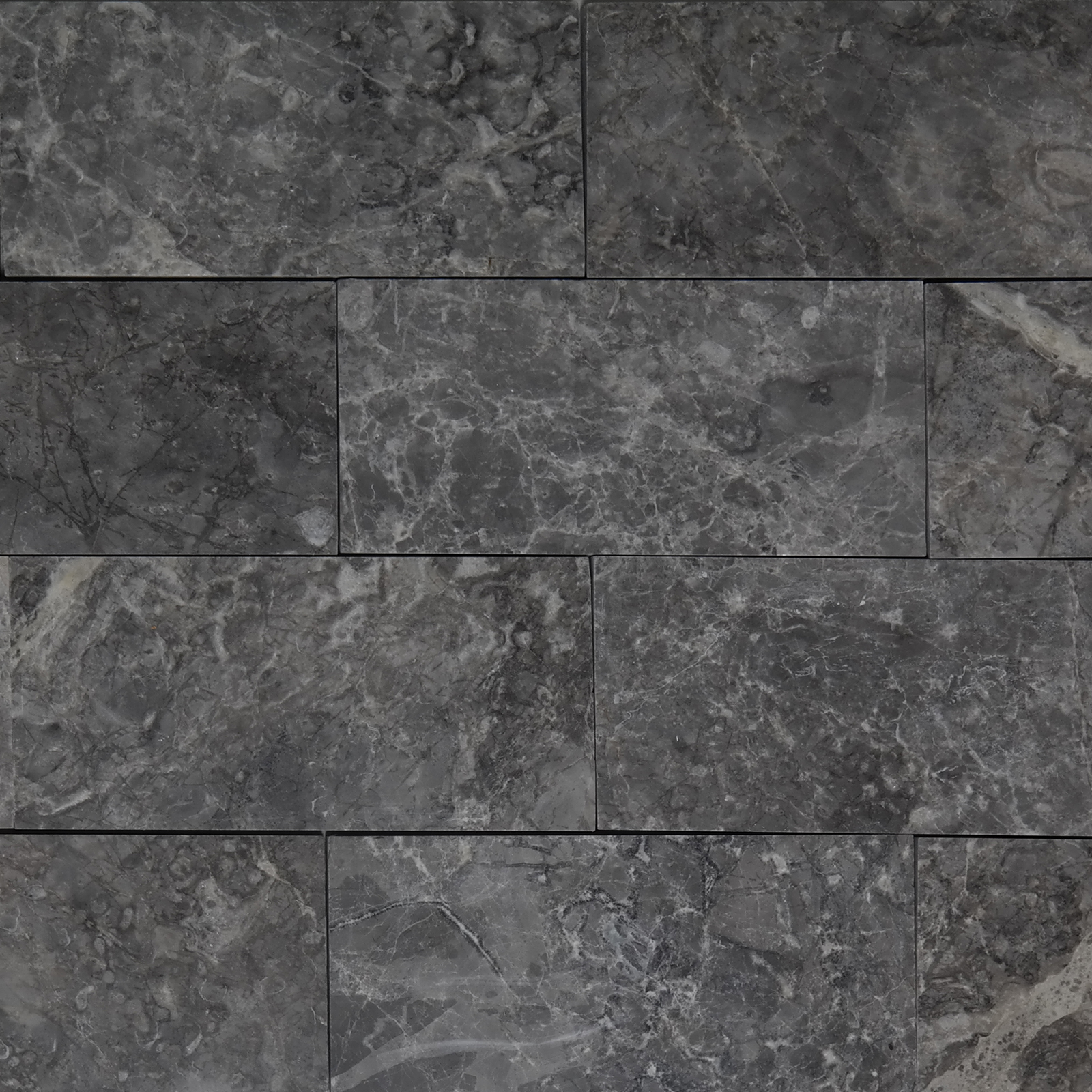 3x6 Cosmos Grey Marble Polished Tile