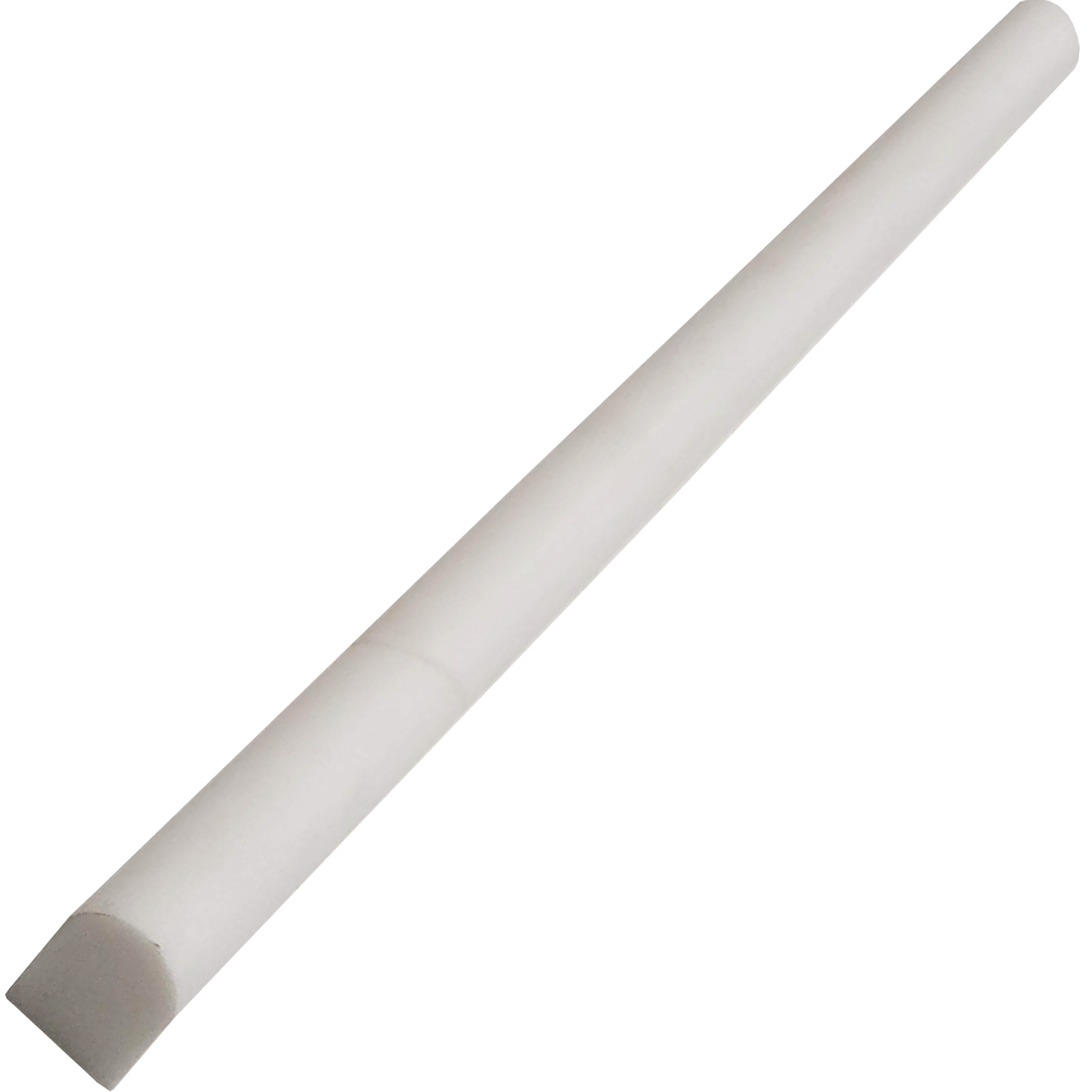 1/2x12 Pencil Molding Dolomite Marble Polished