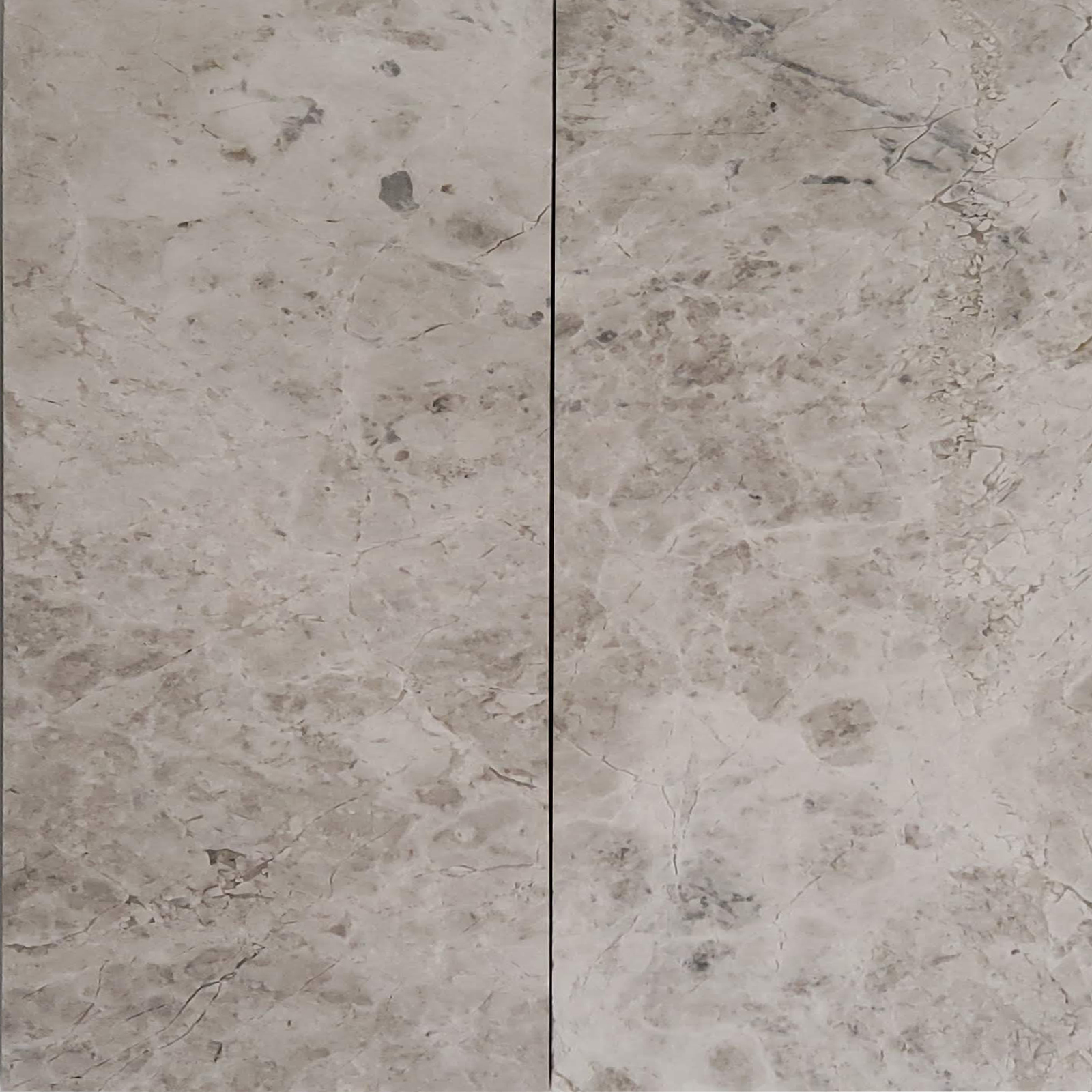 12x24 Silver Shadow Marble Polished Tile