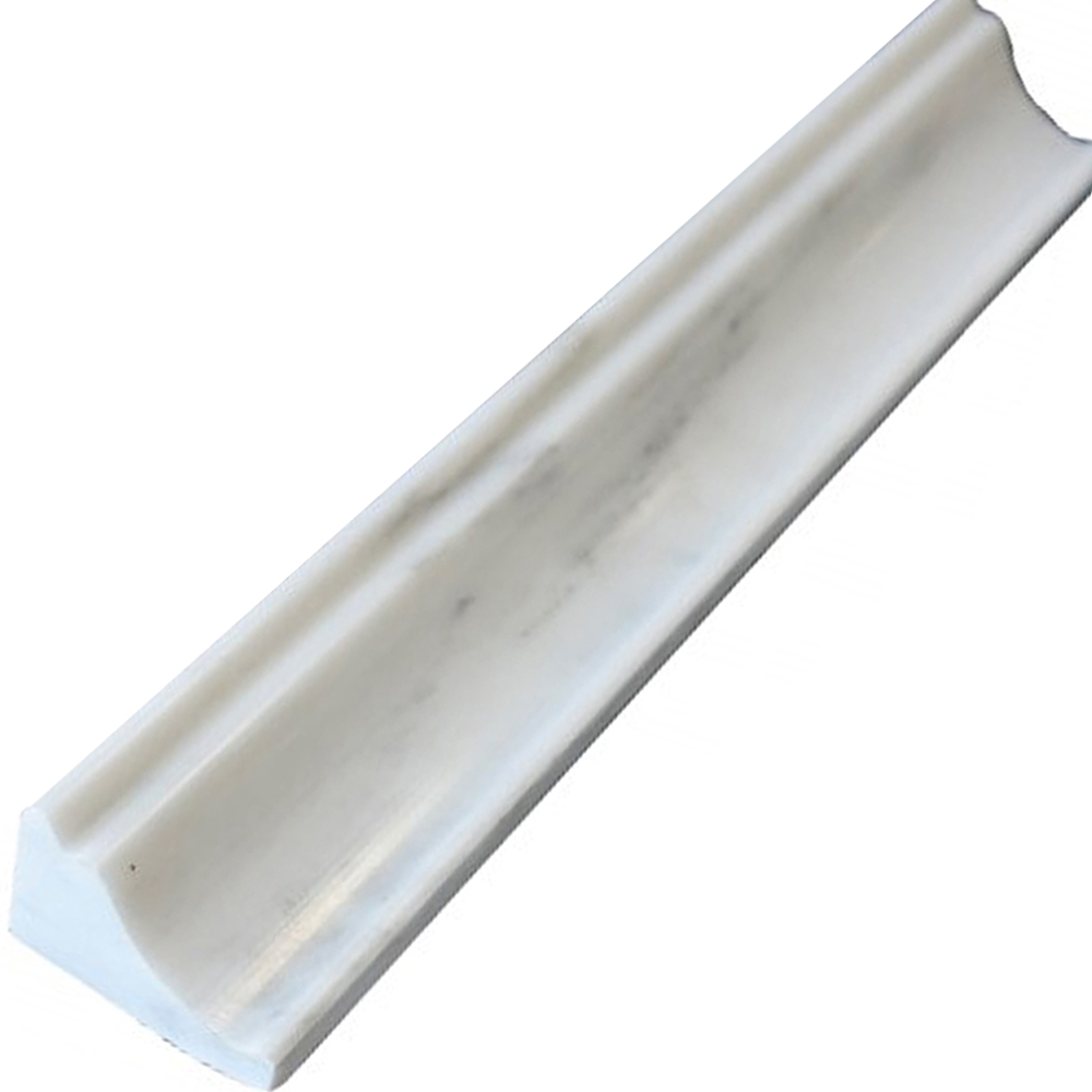 Crown Molding Statuary Carrara Marble | Asian